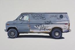 KevinCyr汽车插画艺术