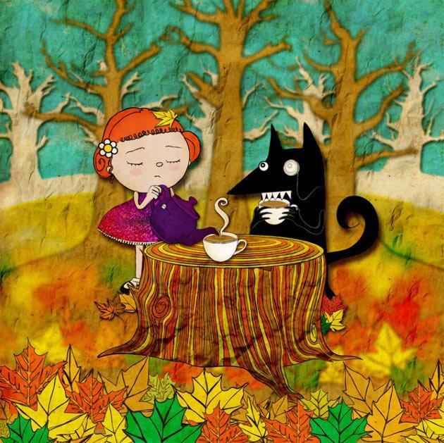 ChristinaTsevis儿童插画欣赏