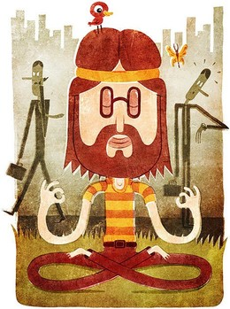 TuomasIkonen杂志插图设计(一)