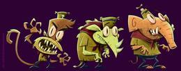 Maroto趣味插畫和角色設計