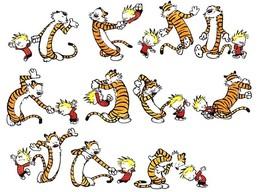 插畫欣賞:美國經典漫畫Calvin&Hobbes(凱文和跳跳虎)