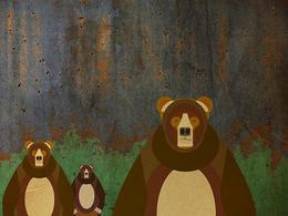 MattLa'Mont复古风格动物插画欣赏