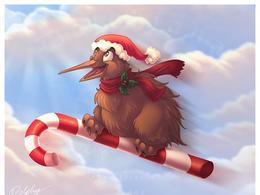 30张圣诞节插画欣赏