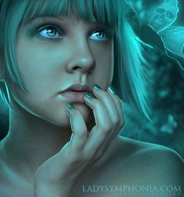 LadySymphonia女性角色插畫設計