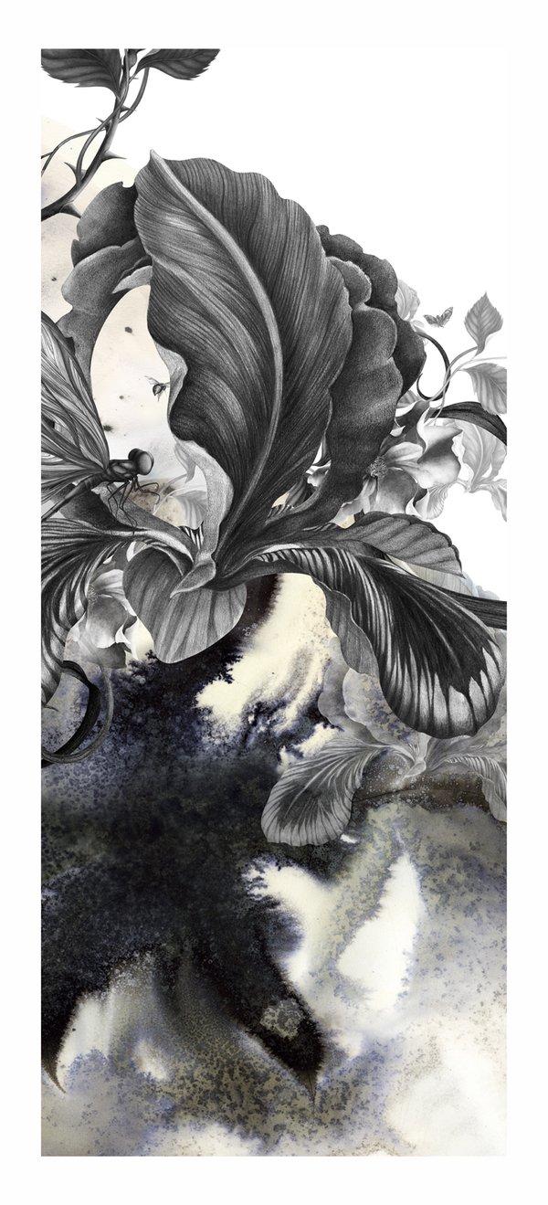 日本插画家KahoriMaki作品欣赏