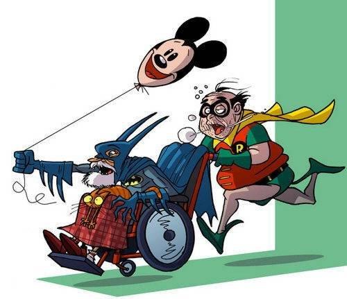 DonaldSoffritti漫画作品:退休后的超级英雄