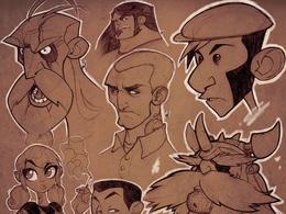 AlessandroGottardo超酷卡通插畫