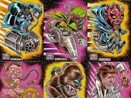 BrentEngstrom:《星球大战》角色卡片插画