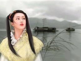 唯美的中国女性插画作品