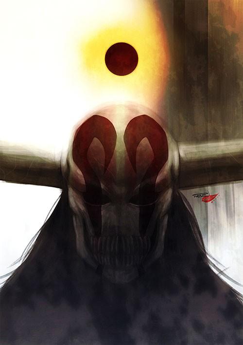 日本漫畫《死神》人物插畫:黑崎一護Kurosakiichigo