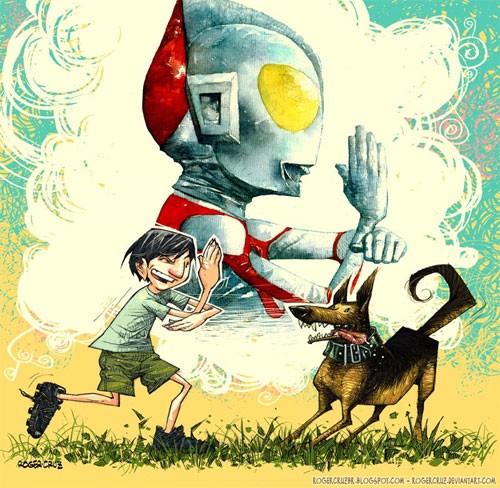 奥特曼(Ultraman)插画欣赏