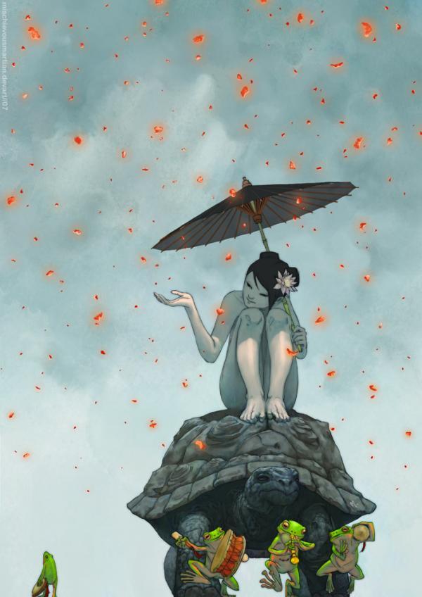 印尼插画师YasminePutri作品欣赏