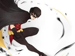 DCComics漫畫英雄人物:神童Robin
