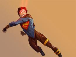 DC漫畫英雄人物插畫:Superboy