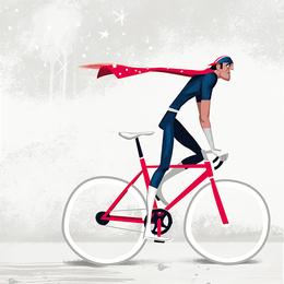 Thorsten Hasenkamm:死飛自行車運動插畫設計