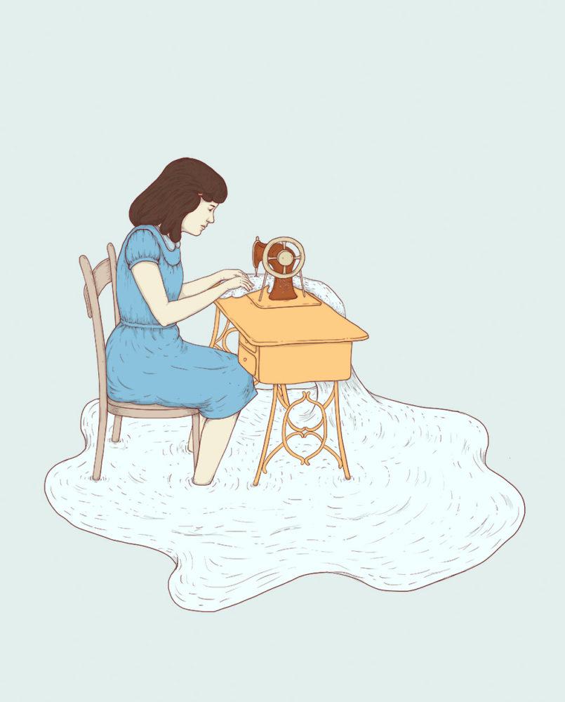 自由插画师Cami Dobrin作品欣赏