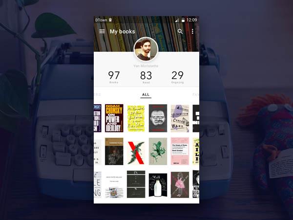 图书APP界面UI设计(一)