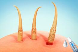 La Roche-Posay理肤泉系列创意平面广告