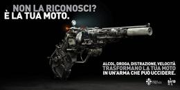 意大利反对危险驾驶的社会运动系列宣传广告