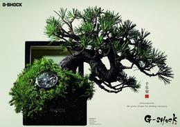 日本G-SHOCK手表系列平面广告欣赏