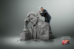 Tempra压力性头疼药系列创意广告