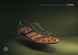 拜耳Lotrimin抗腳癬藥系列創意廣告