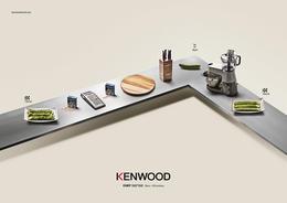 KENWOOD厨师机系列创意广告欣赏