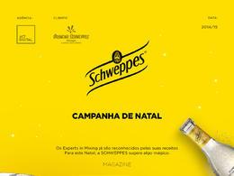 Schweppes汽水葡萄牙圣誕活動宣傳廣告