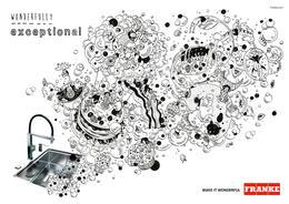 弗兰卡Franke产品系列插画广告欣赏