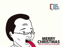 Wall Street English華爾街英語圣誕創意廣告