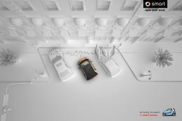 smart汽车系列创意广告欣赏