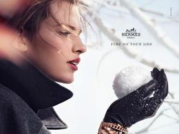 奢侈品品牌爱马仕2012秋冬摄影宣传广告