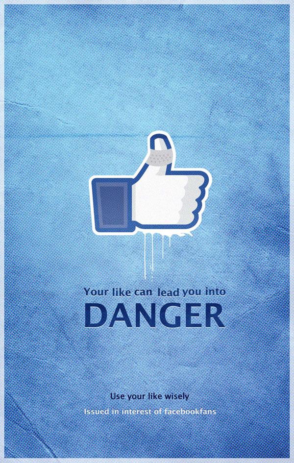 Facebookfans系列创意广告设计欣赏