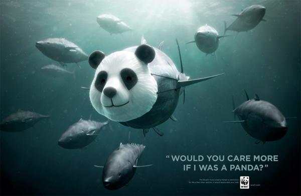 世界自然基金会(WWF)公益宣传广告赏析(七)