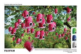 Fujifilm富士數碼相機經典創意廣告賞析(二)