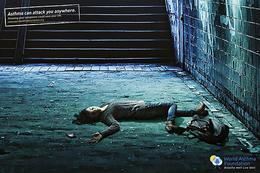 注重哮喘疾病系列公益广告欣赏