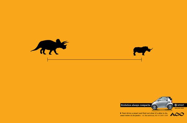Smart(精灵)汽车系列创意广告案例欣赏