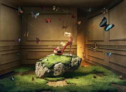 法国高档鞋品牌Christian Louboutin系列新锐广告欣赏