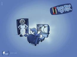Alfacell电池系列插画创意广告欣赏