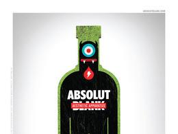 Absolut系列精彩时尚创意广告欣赏