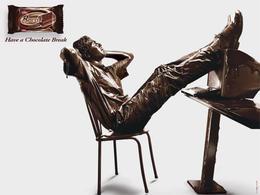 Break巧克力糖系列經典創意廣告欣賞