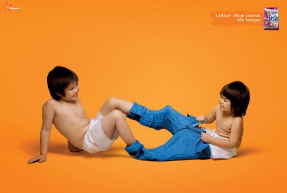 USA洗衣粉系列精彩创意广告欣赏