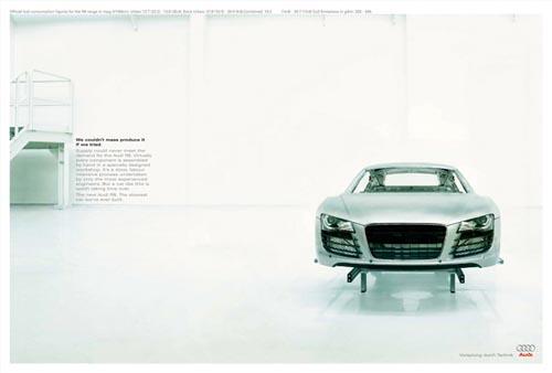 奥迪R8系列时尚创意设计欣赏