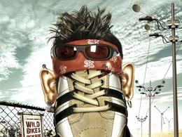 ID Shoes休闲运动鞋系列创意广告分享