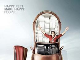 Metro鞋系列精彩创意广告欣赏