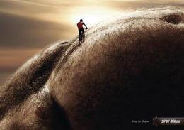 SPW山地自行车系列创意广告欣赏