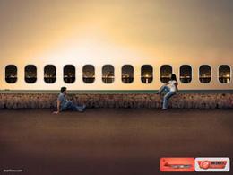 SBA航空系列廣告創意分享