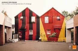 法国电信运营商Orange公司广告创意