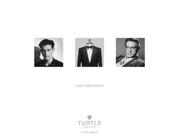 服饰品牌Turtle Suits广告创意欣赏