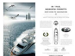 世界顶级游艇品牌博星宣传广告